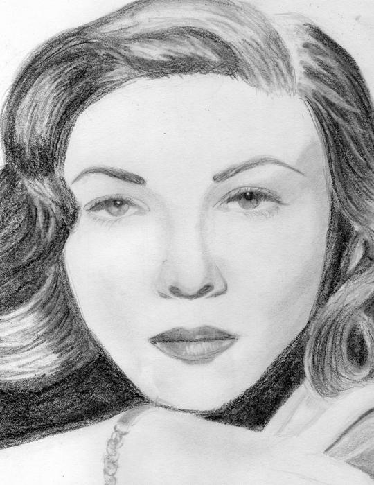 Lauren Bacall por CatiHIFK